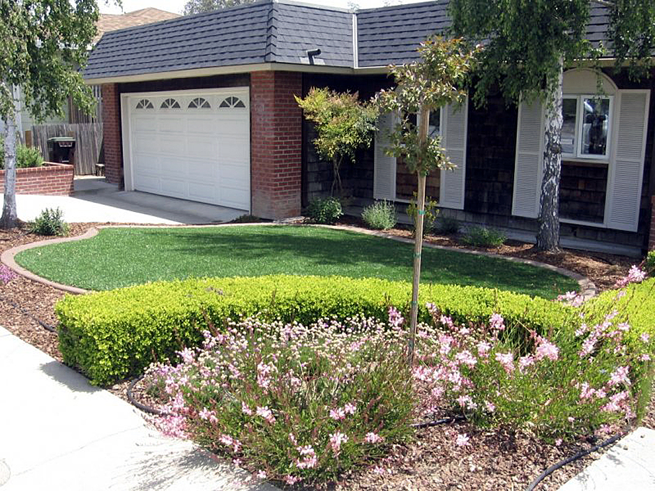 Fake Grass Carpet Temple City California Lawn And Garden Front