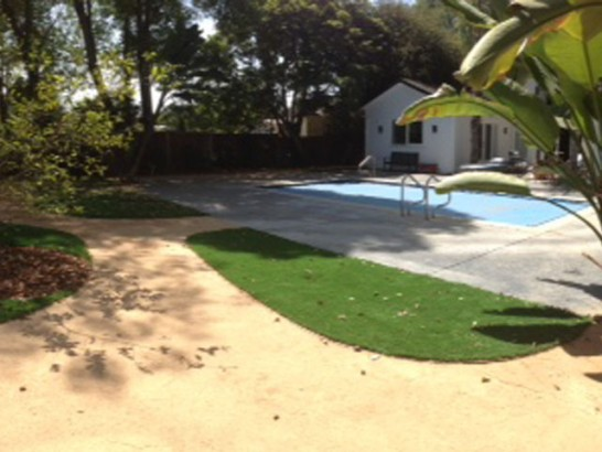 Green Lawn Redlands, California City Landscape, Backyard Landscape Ideas artificial grass