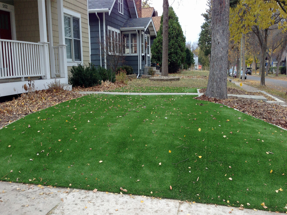 Plastic Grass Menifee California Landscape Design Small Front